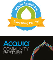 Drupal Association Supporting Partner, Acquia Community Partner