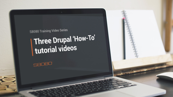 Here's three of our simple Drupal 'How-To' tutorial videos.