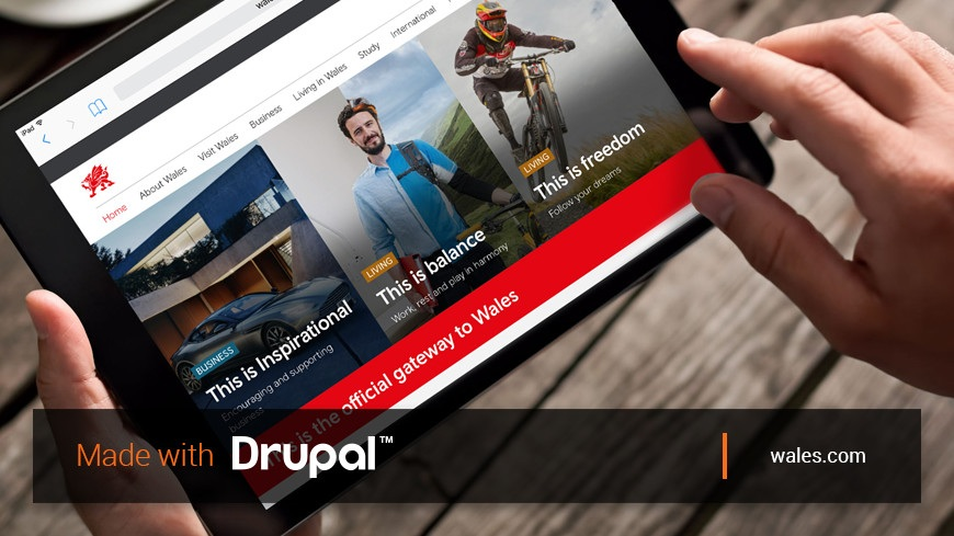 Made with Drupal